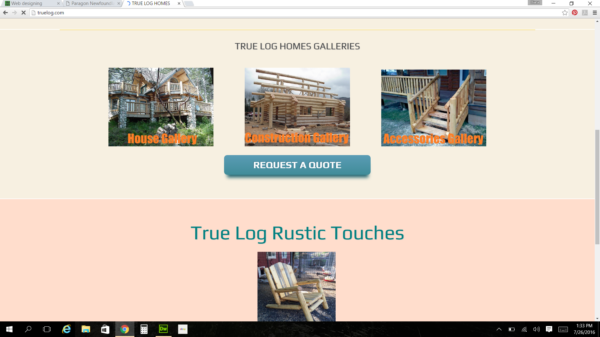 True Log Homes